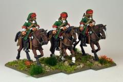 Mounted French Dragoons