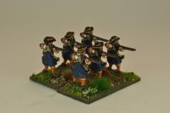 Musketeers w/Flintlocks, Firing