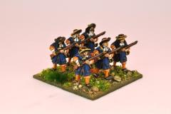 Musketeers w/Flintlocks at Ready