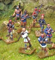 Indian Reinforcements w/Muskets