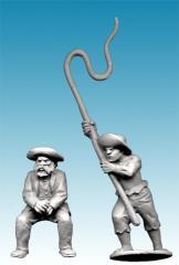 Boer Wagon Driver