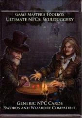 Ultimate NPC - Skulduggery - Generic NPC Cards (Swards & Wizardry)