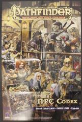 NPC Codex Promo Poster
