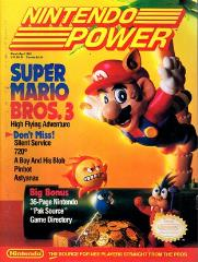 "#11 ""Super Mario Bros. 3, Pinbot, 36-Page 'Pak Source' Game Directory"""