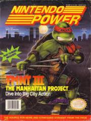 "#33 ""TMNT III - The Manhattan Project, Q*Bert, Super Scope 6"""
