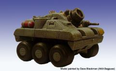 Ogre 234 Assault Gun - Wheeled