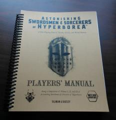 Astonishing Swordsmen and Sorcerers of Hyperborea Players' Manual (1st Edition)