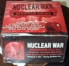 Nuclear War Booster Pack Lot (10 Packs)