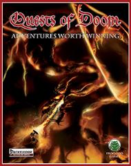 Quests of Doom Complete w/PDF (Pathfinder) (Limited Edition)