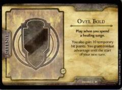 Neverwinter Fortune Card - Over Bold