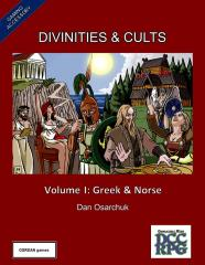 Divinities & Cults Vol. I - Greek & Norse
