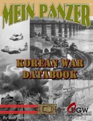 Mein Panzer - Korean War Data Book