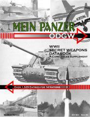 Mein Panzer - World War II Secret Weapons Data Book