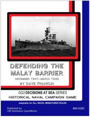 General Quarters - Defending the Malay Bay (Loose Leaf Edition)