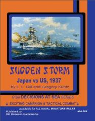 General Quarters - Sudden Storm, Japan vs. US, 1937 (Loose Leaf Edition)