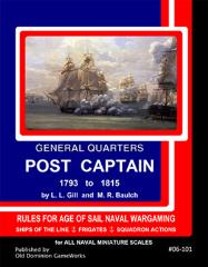General Quarters - Post Captain 1793-1815 (Loose Leaf Edition)