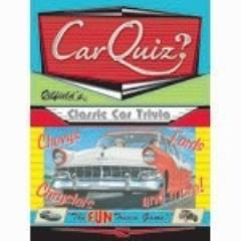 Oilfield's Car Quiz
