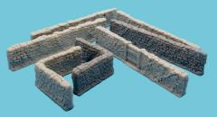 High Stone Wall & Gate
