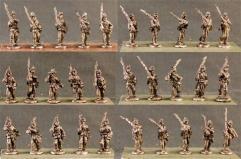 Infantry - Marching w/Light Equipment & Blanket Roll