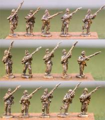 Infantry - Advancing w/Light Equipment & Blanket Roll