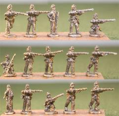 Infantry - Firing w/Light Equipment & Blanket Roll
