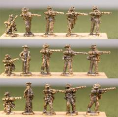 Infantry - Firing w/Blanket Roll