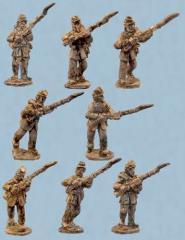 Infantry in Frock Coats