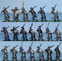 Infantry in Great Coat