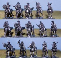 Cavalry w/Carbines & Shotguns
