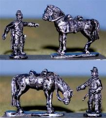 Horse Holders w/Horses
