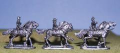 Extra Limber Horses w/Riders