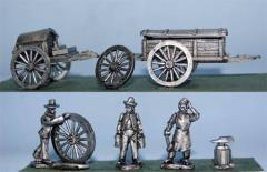 Forge & Battery Wagons