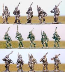 Infantry in Kepi w/Havelock