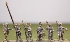 British Infantry 1768 Warrant Command