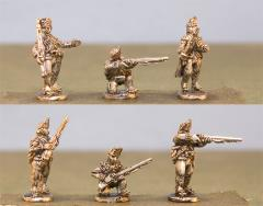 British Light Infantry w/Command