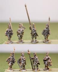 Highlanders in Kilt w/Command