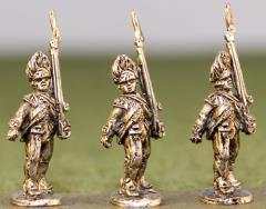 British Grenadiers Cut Down Coats, Bearskins