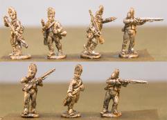 Queens Rangers Infantry w/Command