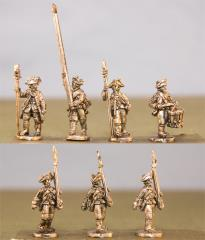 Hessian Musketeers w/Command