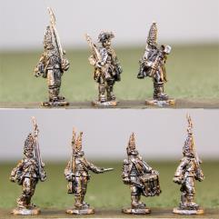 Hessian Grenadiers w/Command