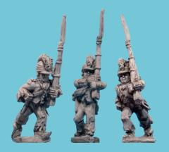 Grenadiers March Attack in Helmets