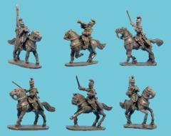 Mounted Jaegers Chasseurs w/Command