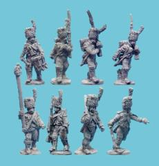 Old Guard Chasseurs w/Command