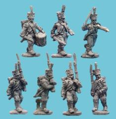 Fusiliers - Grenadiers w/Command