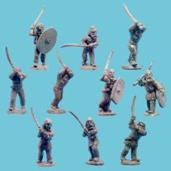 Dacian Infantry w/Faulx