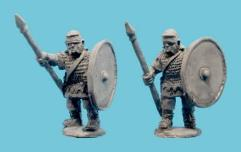 Auxiliary Infantry in Mail