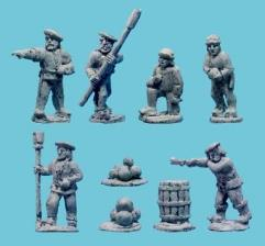 Italian Artillery Crews