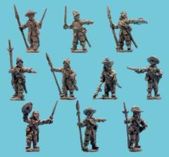 Officers w/Partizans