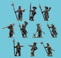 Sergeants w/Halberds