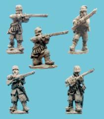 Musketeers - Skirmishing w/Monmouth Caps